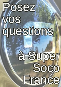 posez vos questions à Super Soco France