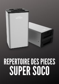 Pièces custom custimisation Super Soco TC TS TC MAX